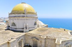 Cathedral of Cadiz Royalty Free Stock Photography