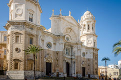 Cathedral Cadiz. The famous Cathedral of Cadiz - Spain Stock Image