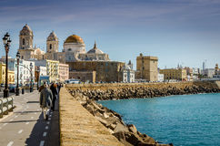 Cathedral Cadiz Royalty Free Stock Photography