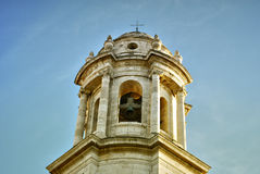 Cathedral of Cadiz, Spain Stock Image