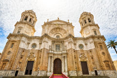 Cathedral of Cadiz Spain Royalty Free Stock Photography