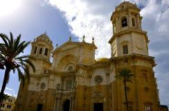 Cathedral in Cadiz, Spain Stock Image
