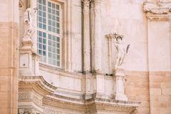 Cathedral in Cadiz, Spain. Sunny day Royalty Free Stock Images