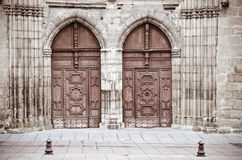 Cahors cathedral Royalty Free Stock Image