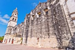 Cathedral in Campeche, Mexico Royalty Free Stock Photo