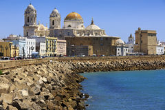 Cathedral Campo del Sur, Cadiz, Spain Royalty Free Stock Photography