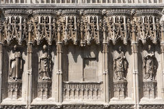 The Cathedral of Canterbury Stock Images