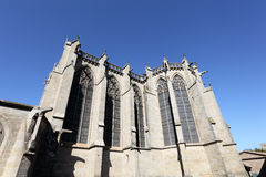 Cathedral of Carcassonne, France Royalty Free Stock Photo