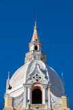 The Cathedral of Cartagena Royalty Free Stock Images