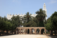 Cathedral in Casablanca, Morocco Royalty Free Stock Photo