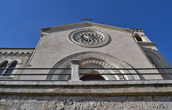 Cathedral Castelmola - Sicily Stock Images