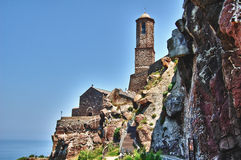 Cathedral Of Castelsardo Stock Image