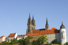 Cathedral and Castle meissen Royalty Free Stock Photography