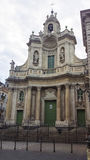 Cathedral from Catania Stock Photography
