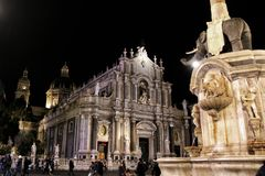 Cathedral of Catania Stock Photography