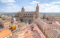 Cathedral (Catedral Nueva), Old City of Salamanca, Spain. Stock Photo