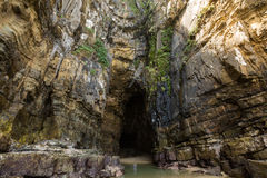 Cathedral Caves, Catlins, South Island,New Zealand Royalty Free Stock Photos