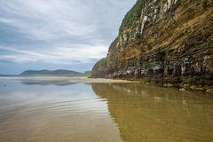 Cathedral Caves, Catlins, South Island,New Zealand Stock Image