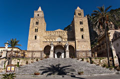 The Cathedral of Cefalù Royalty Free Stock Photography