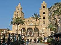 Cathedral Cefalu Royalty Free Stock Photos