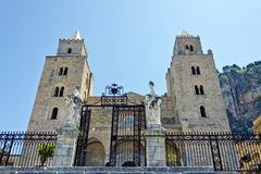 The Cathedral of Cefalu Royalty Free Stock Photography