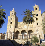 Cathedral of Cefalu. Cathedral of Cefalù (palermo) - sicily Stock Photography