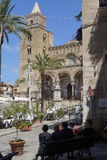 Cathedral of Cefalu Royalty Free Stock Photography