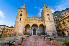 The Cathedral of Cefalu, Sicily, Italy Royalty Free Stock Images