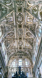 Cathedral Ceiiing Altar Mezquita Cordoba Spain Royalty Free Stock Photography