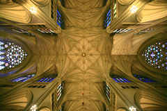 Cathedral ceiling Stock Images