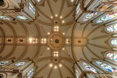 Cathedral Ceiling Royalty Free Stock Photography