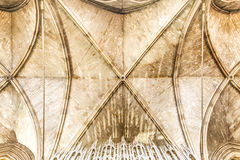 Cathedral ceiling Royalty Free Stock Images