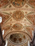 Cathedral ceiling in Seville, Spain Royalty Free Stock Images