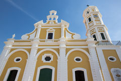 Cathedral in the center of Ciudad Bolivar, Venezuela Stock Image