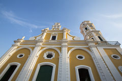 Cathedral in the center of Ciudad Bolivar, Venezuela Royalty Free Stock Image