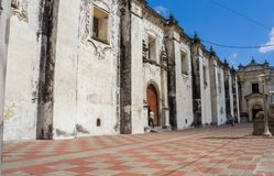 Cathedral on the central square of Leon. Nicaragua royalty free stock photos