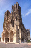 Cathedral of Champagne region in France. Stock Image