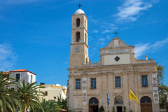 The cathedral of Chania, Crete Stock Photo