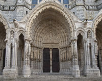 Cathedral of Chartres Royalty Free Stock Photography