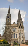 Cathedral of Chartres. Stock Photos