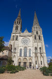 Cathedral of Chartres Stock Photos