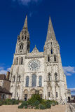Cathedral of Chartres Royalty Free Stock Photo