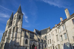Cathedral of Chaumont France Stock Photo