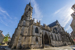 Cathedral of Chaumont, Haute-Marne, France Royalty Free Stock Photos
