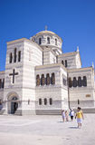 The Cathedral in Chersonese. The Cathedral in Chersonesos in Crimea Royalty Free Stock Photo