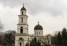 Cathedral of Chisinau Stock Image