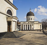 Cathedral in Chisinau, Moldova Royalty Free Stock Photography