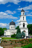 Cathedral of Christ's Nativity. The cathedral was built in the 1830s to a Neoclassical design by Abram Melnikov (who had designed a similar church in Bolhrad Stock Photography