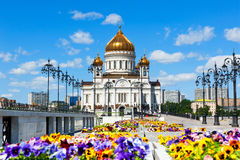 The Cathedral of Christ the Savior Royalty Free Stock Images