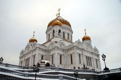 Cathedral of christ the savior royalty free stock photo